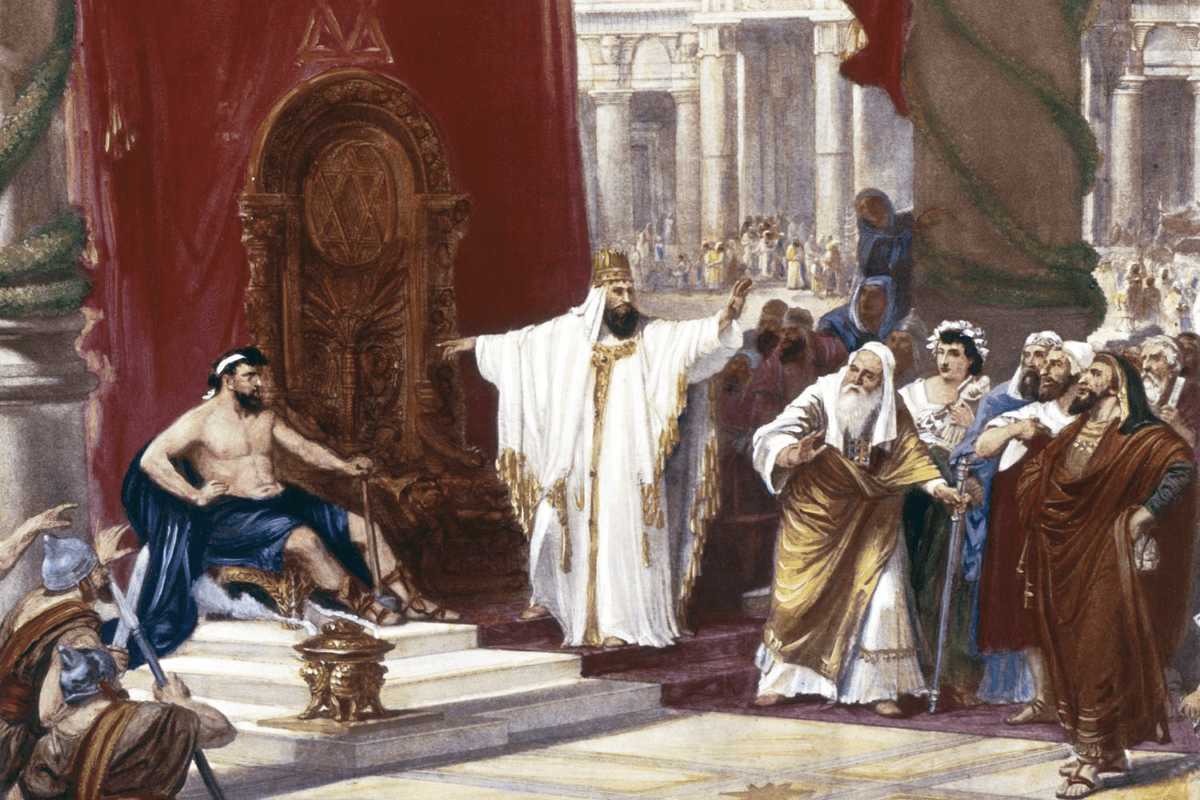King Solomon on mens leadership
